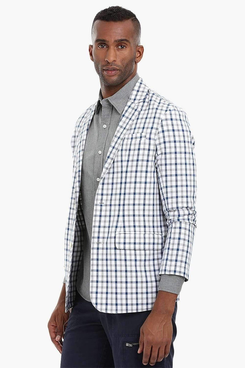 Gingham Summer Blazer