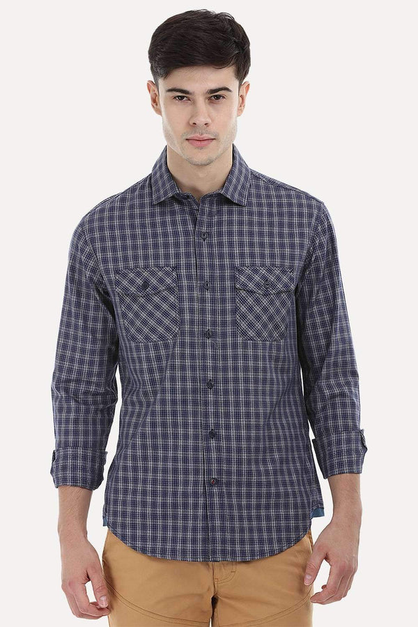 Grindle Plaid Shirt