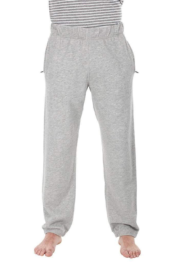 Heather Grey Melange Pants