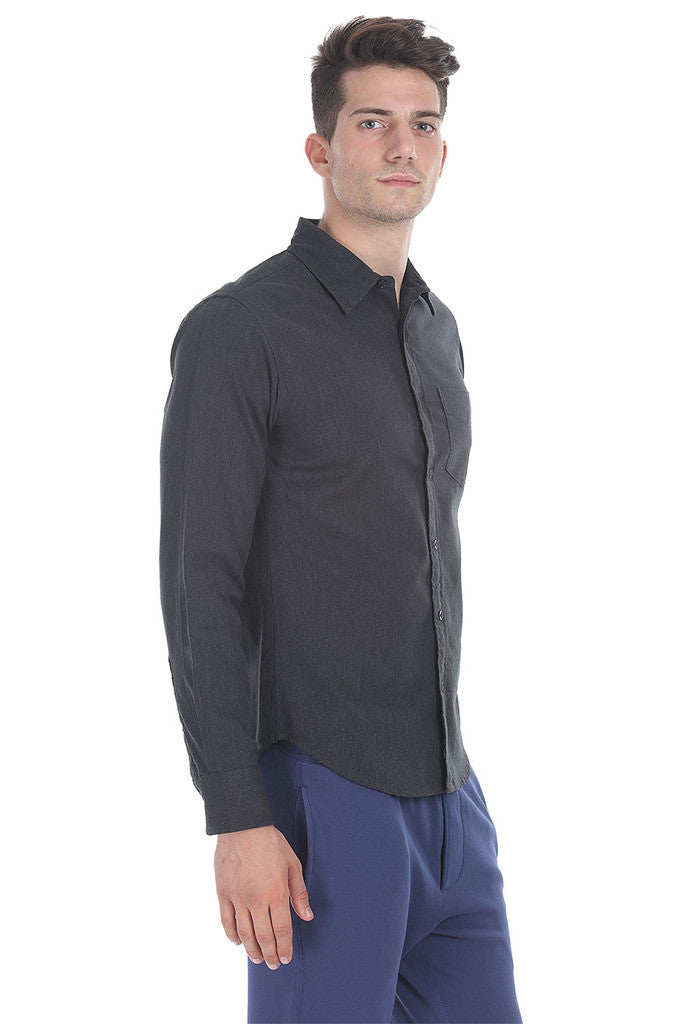Heavy Cotton Shirt With Softner Wash