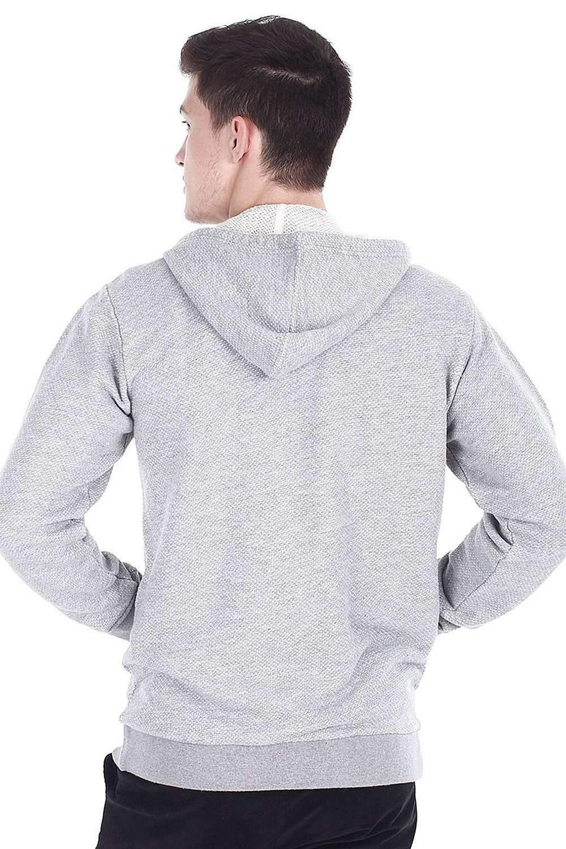 5080b83023 Front Zip Jacquard Knit Hoodie – brinell