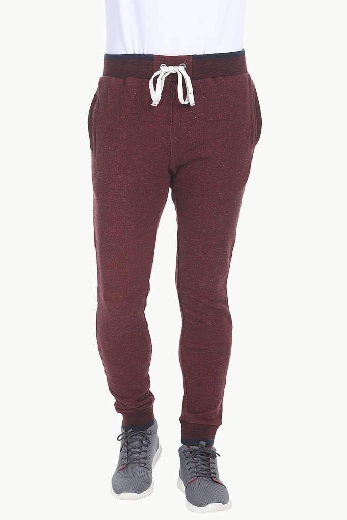 Jacquard Knit Relaxed Fit Pant