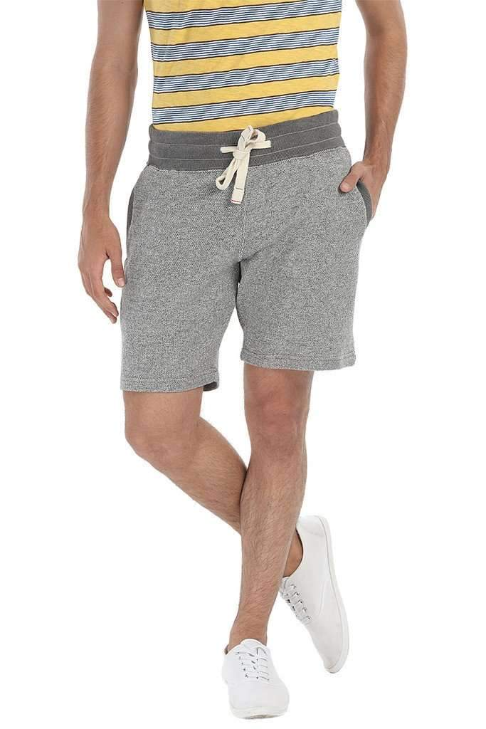 Jacquard Knit Relaxed Fit Shorts