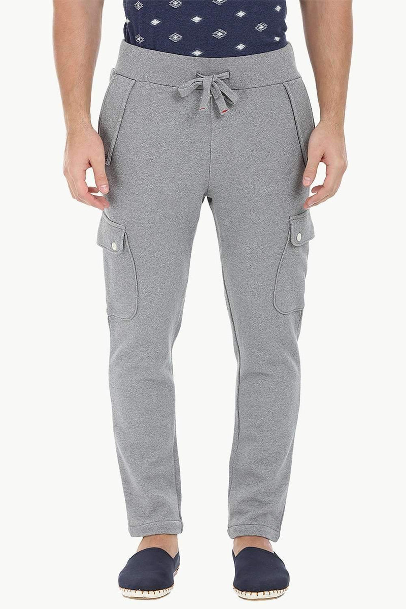 Knit Heather Cargo Sweatpants