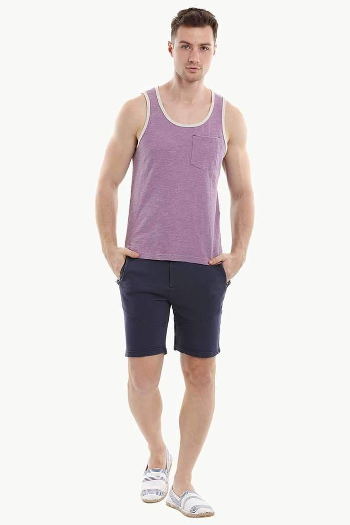 Lavender Sleeveless Summer Tank