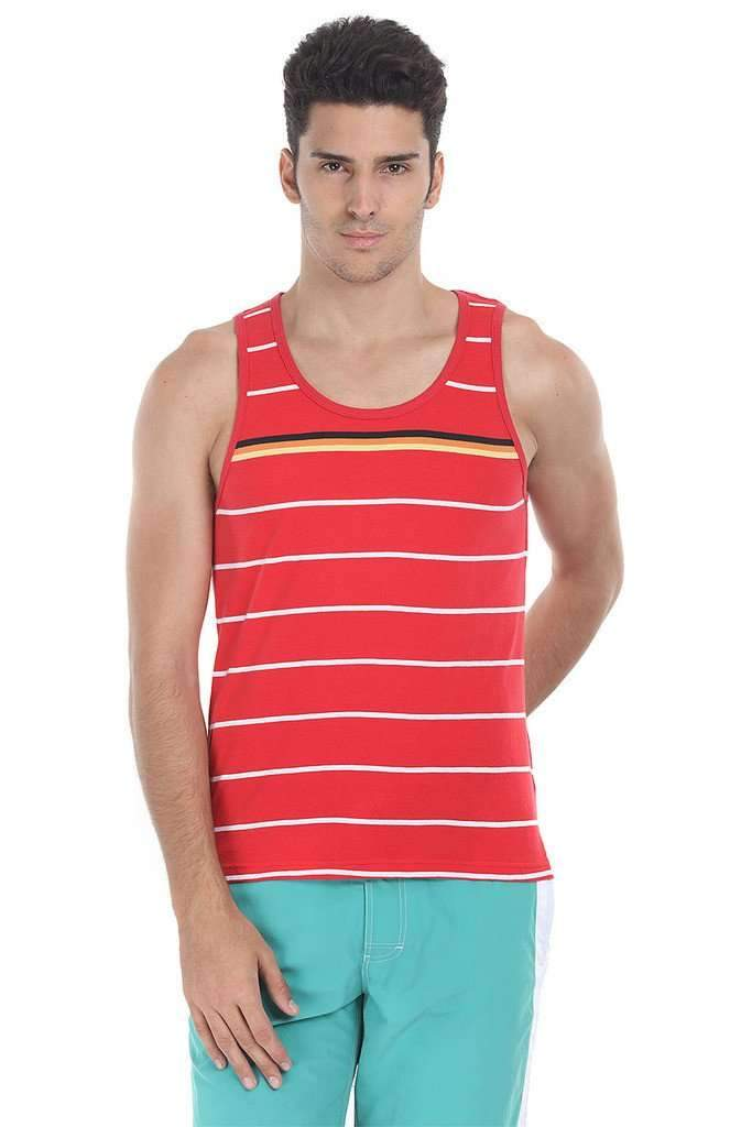 Level Multi Stripe Knit Tank