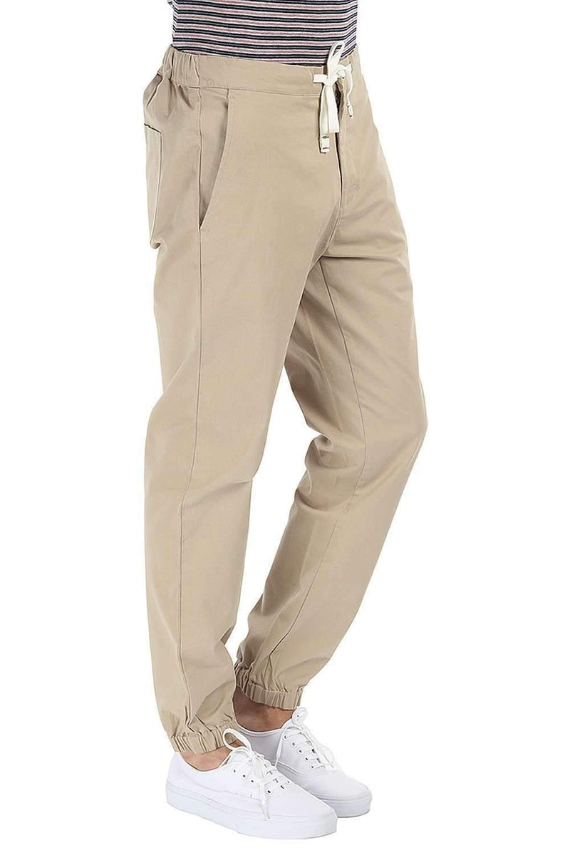 Light weight Peached Twill Cuff Jogger Pant