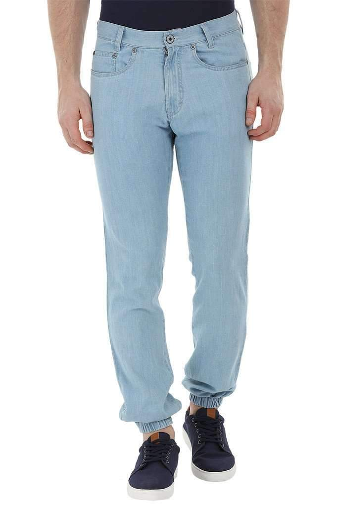 Lightweight Blue Denim Joggers