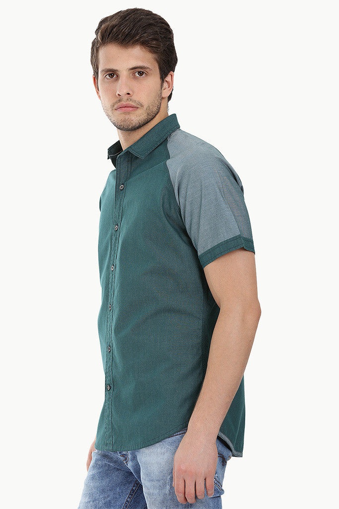 Lightweight Cotton Weave Raglan Shirt