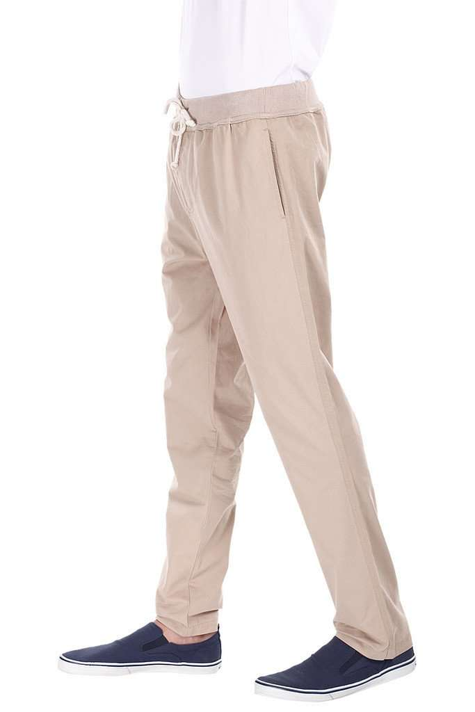 Lightweight Twill Jogger Pants