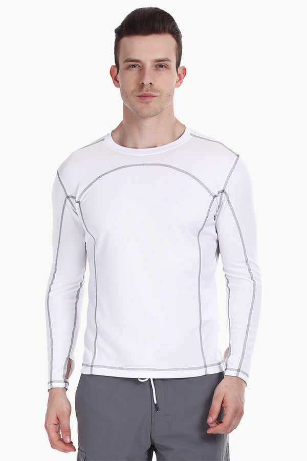 Long Sleeve Crew Neck Performance Wear Tee