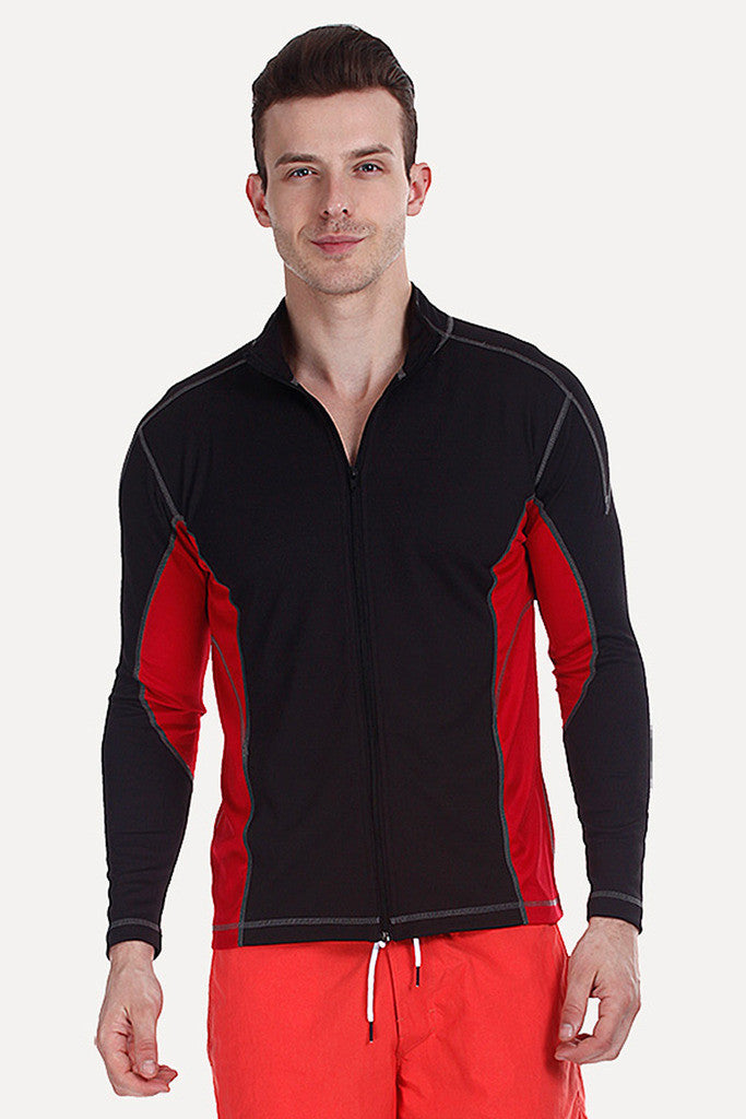 Long Sleeve Zipper Performance Wear Jacket