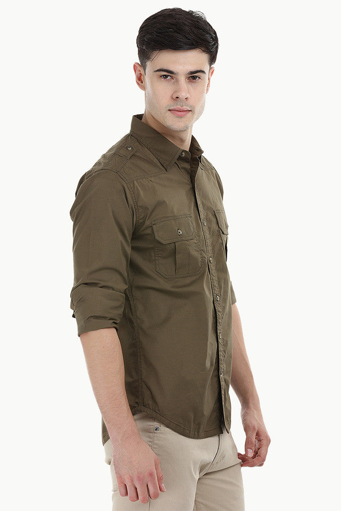 Lycra Expedition Stretchable Shirt