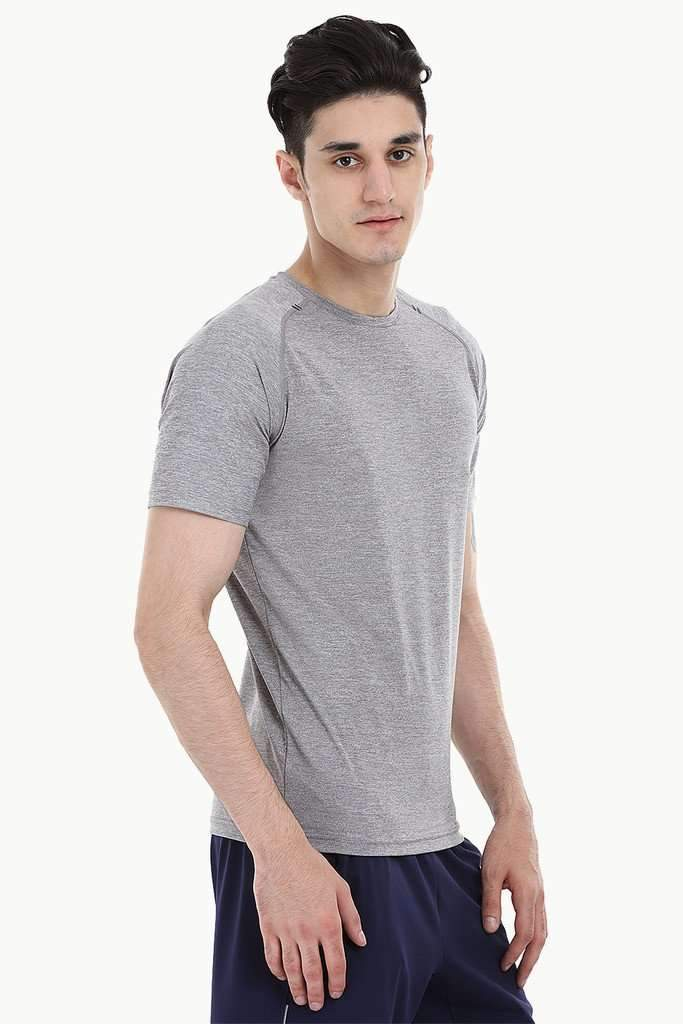 Melange Performance Wear With Seamless Detailing