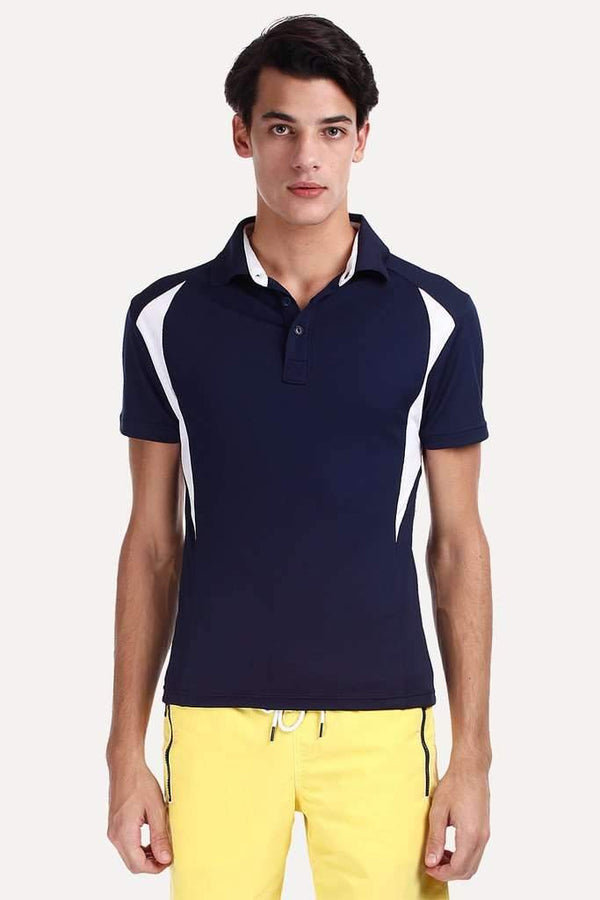 Performance Wear Polo With Contrast Panel