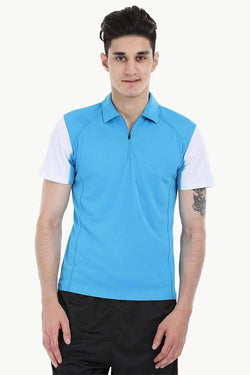 Performance Wear Polo With Zipper