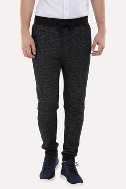 Quilted Knee-Patch Sweatpants