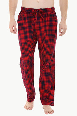 Red Check Lightweight Pyjamas