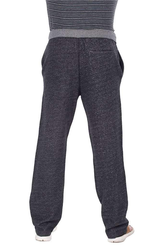 Relaxed Fit Heather Fleece Knit Pants