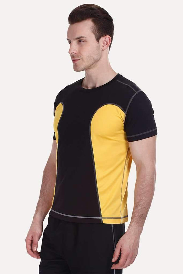 Side Panel Contour Performance Wear Tee