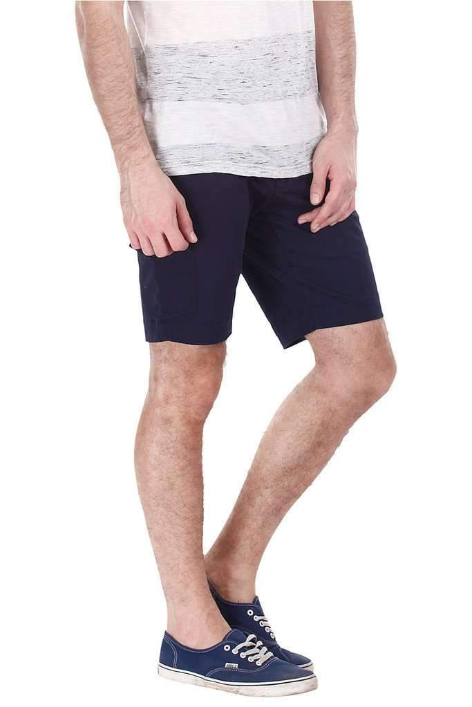Slight Stretch Chino Shorts With Side Pockets
