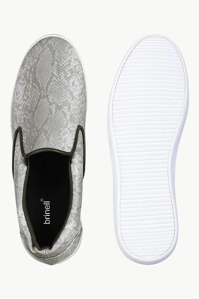 Snake Design Loafer Plimsolls