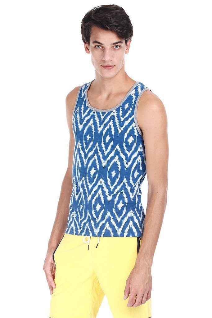 Soft Heather Holiday Printed Tank