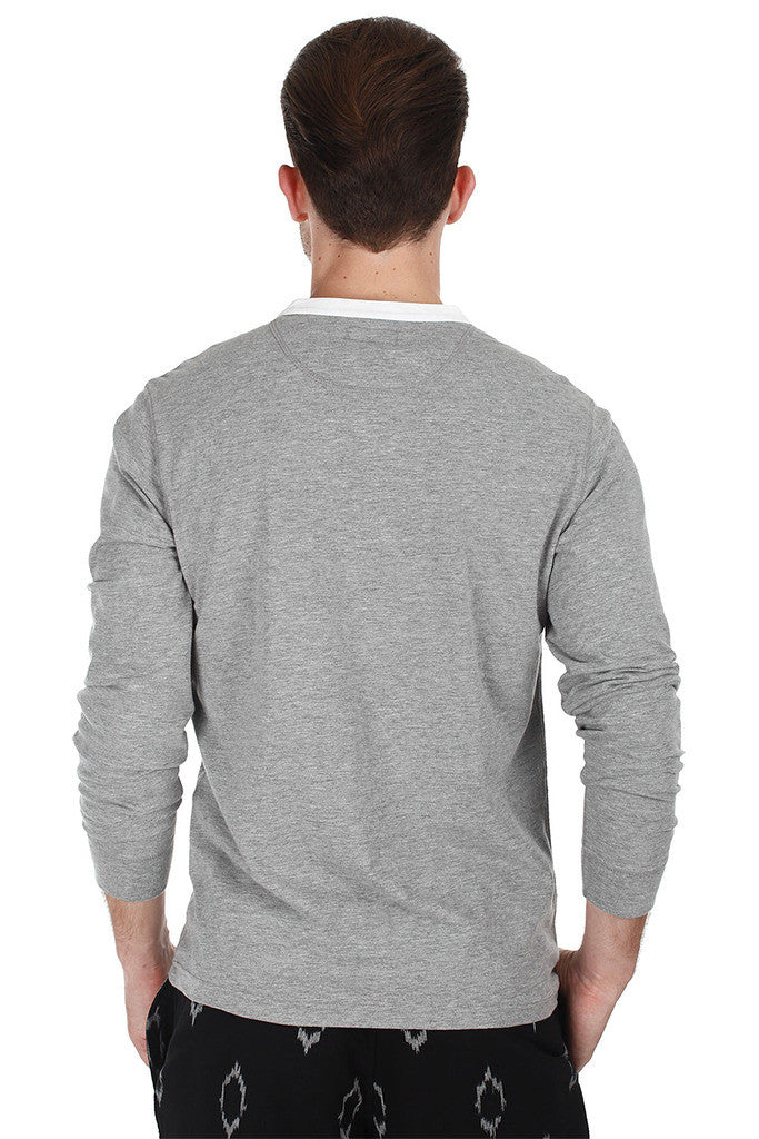 Soft Heather Jersey Knit Tee
