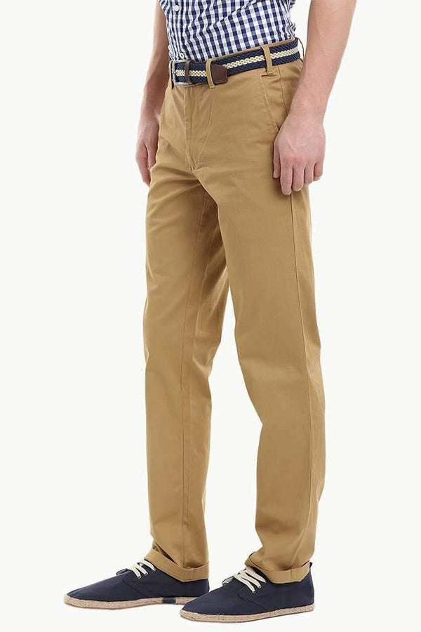 Soft Slight Stretch Cotton Twill Chino Pant