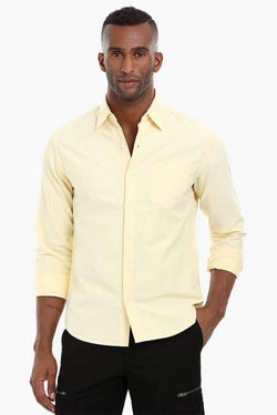 Solid Oxford Cotton Shirt