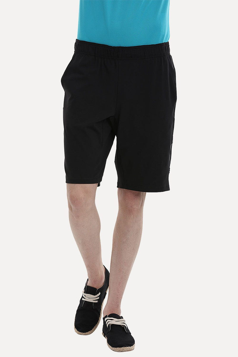 Solid Running Shorts
