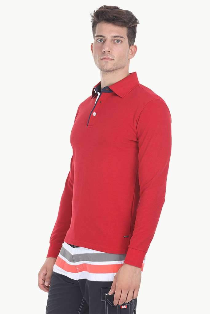Solid Short Sleeve Cotton Pique Polo