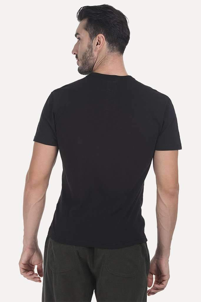 Solid Heather V Neck Super Soft T-Shirt