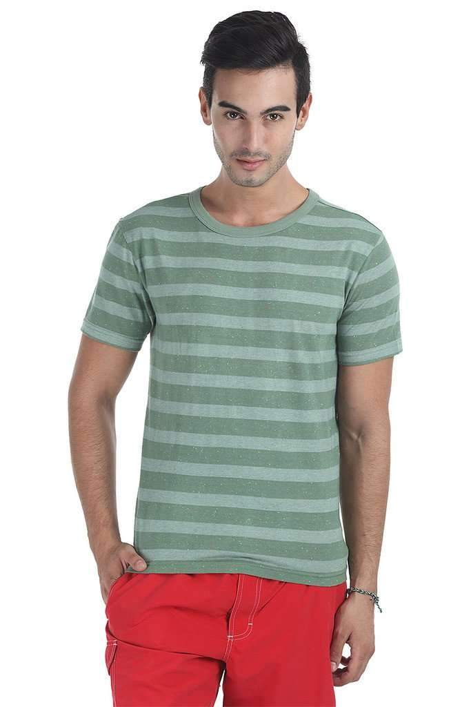 Speckled Stripe Yarn Dyed Tee