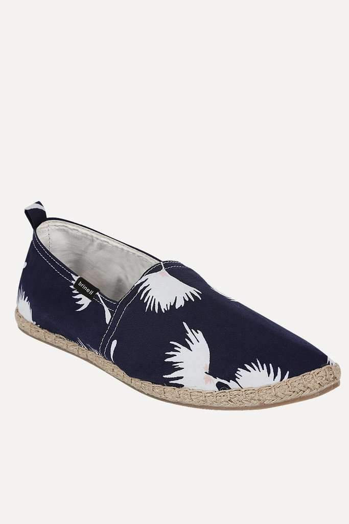 Summer Print Canvas Espadrilles
