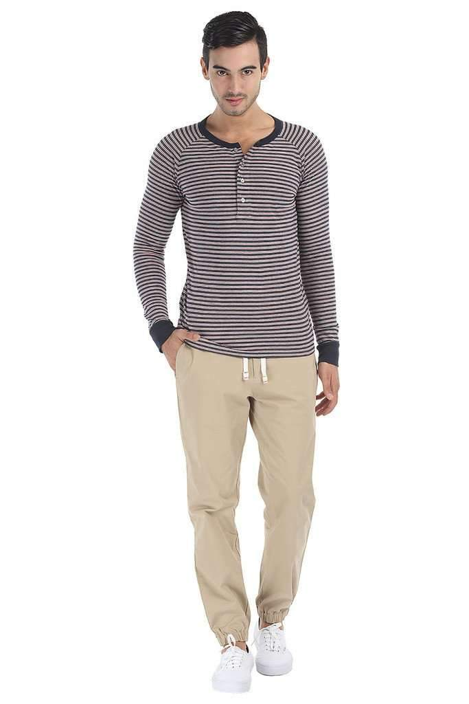 Super Soft Cotton Knit Full Sleeve Henley