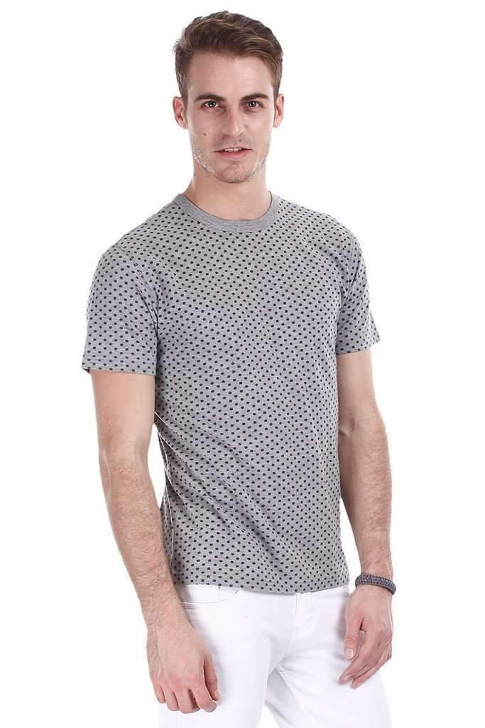 Super Combed Aztec Printed Knit Tee