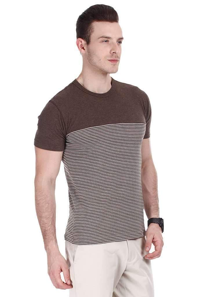Super Combed Bretton Stripe Knit Crew Tee