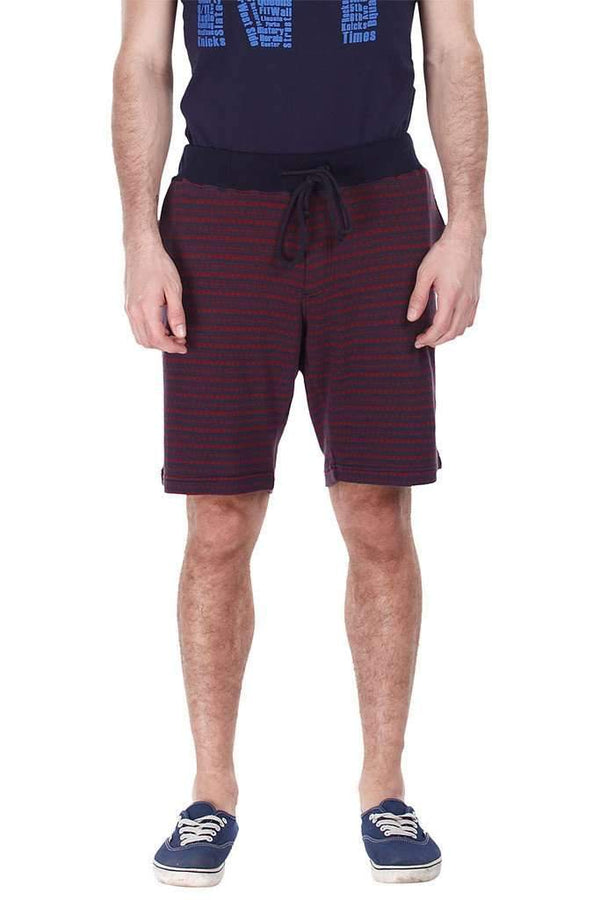 Super Combed Jacquard Knit Solid Shorts