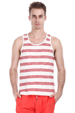 Super Combed Jacquard Knit Tank