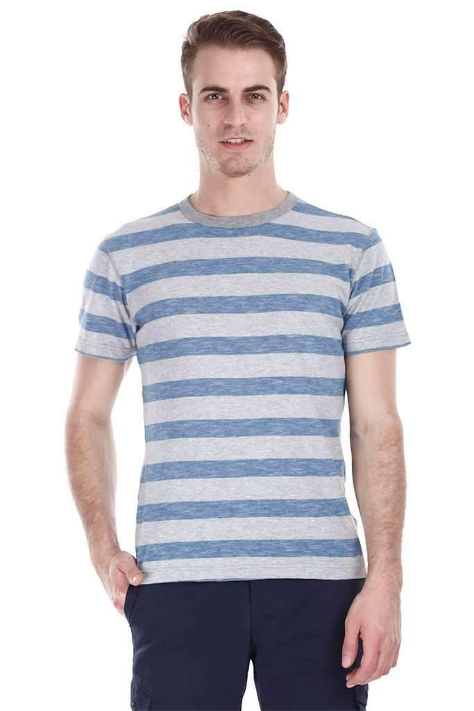Super Combed Jacquard Striped Tee