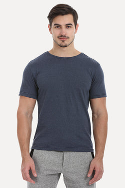 Thin Stripe Short Sleeved Crew