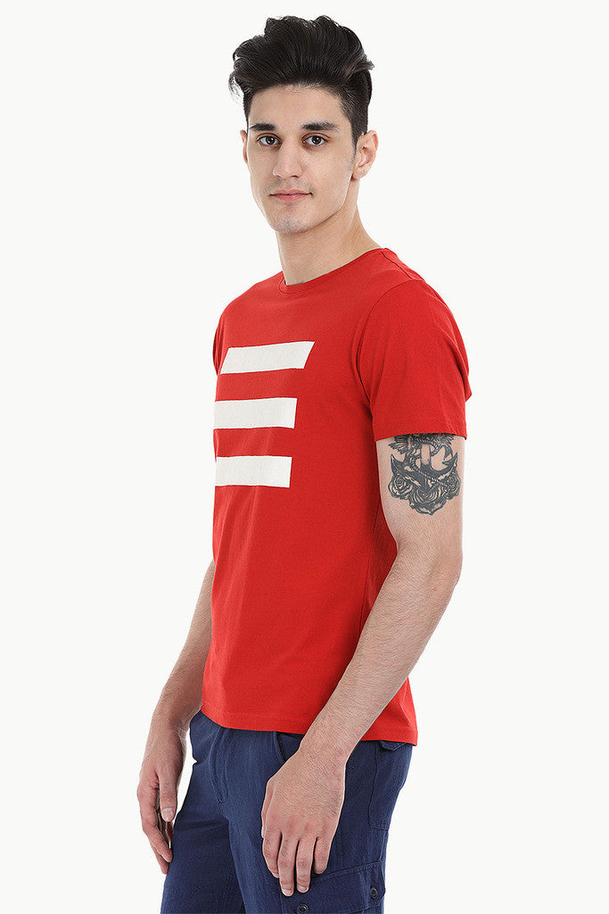Triple Lined Short Sleeve Crew