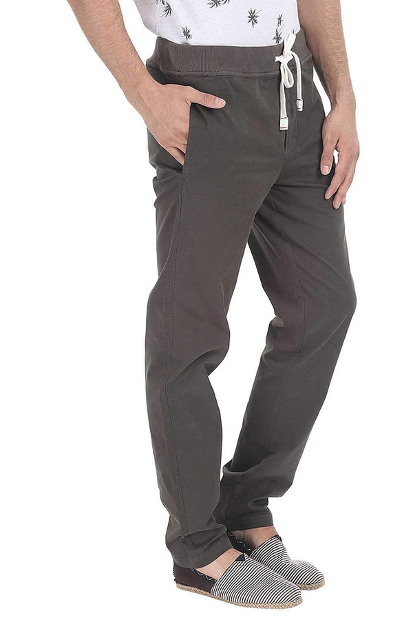 Solid Twill Enzyme Washed Pant