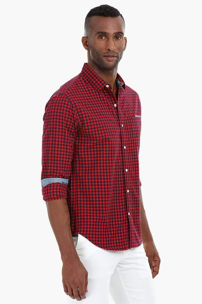 Versatile Gingham Check Shirt