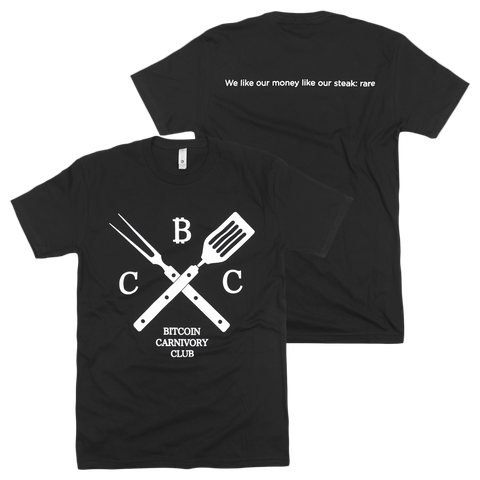 Carnivory Club BBQ Black T-Shirt