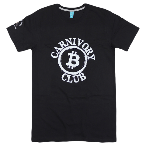Carnivory Club Circle Black T-Shirt