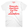 Lambos (Adult) White 100% Cotton - Crypto T-Shirt