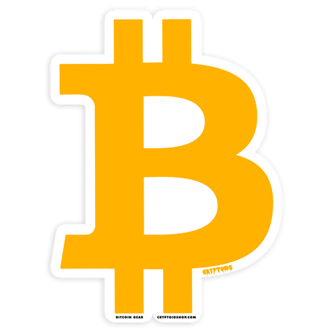 BITCOIN BTC Die-Cut Sticker