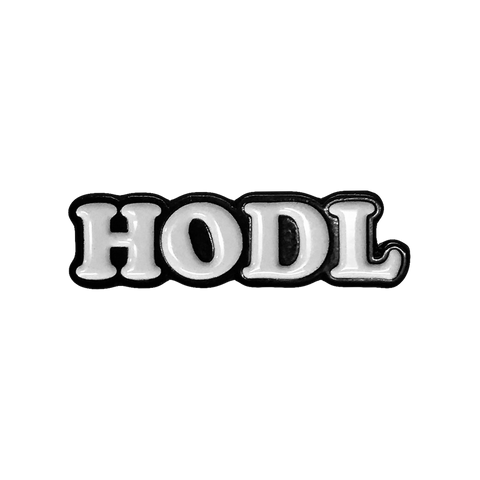 HODL Soft Enamel Pin